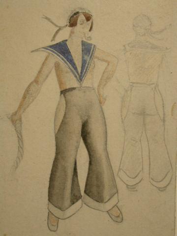 Costume Design for a Sailor