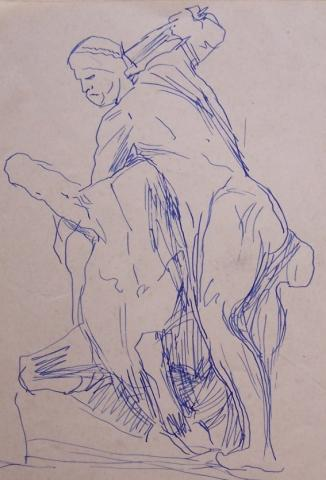 Study for a Statue in Firenze