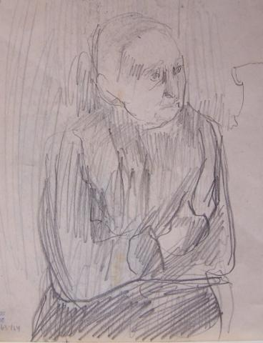 Seated Portrait / Two Studies