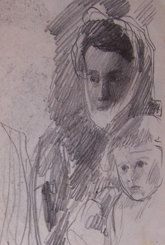 Mother and Child / Two Studies
