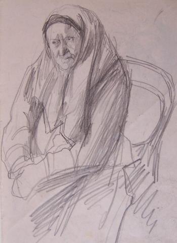 Studies of Old Woman
