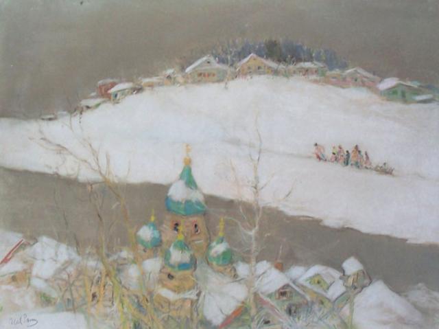 Russian Snowy Landscape