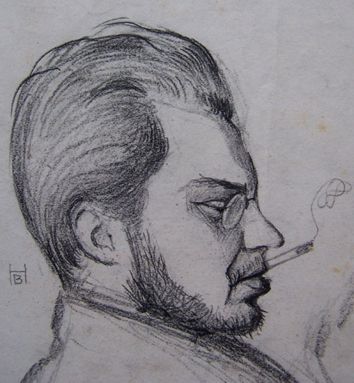 Profile of Smoking Man