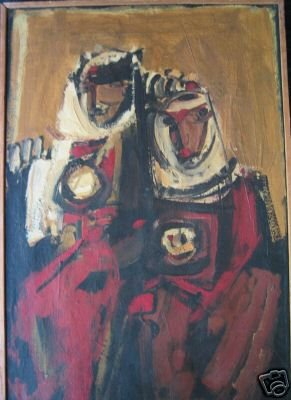 Two Figuers,1962