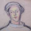Boy with Barett / Profile of a Man