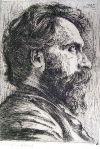 Portrait of Ruben Brainim