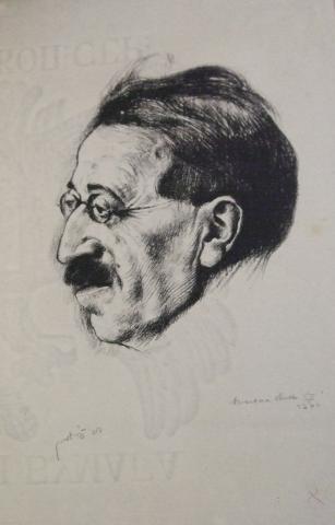 Portrait of David Frishman