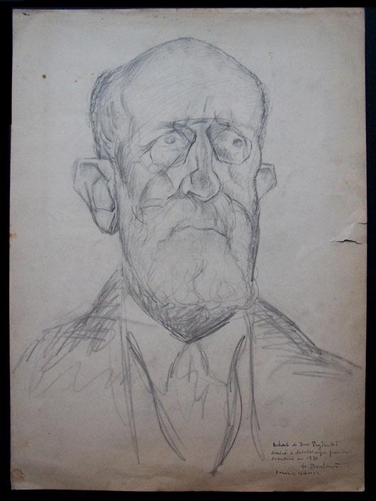 Portrait of Zwi Pryturki