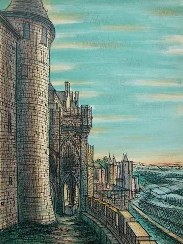 Les Baux - Le Chateau.