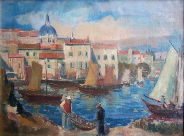 The Dalmatian Port
