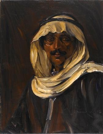 Portrait with a Keffiyeh