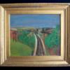 Landscape with Train-rail