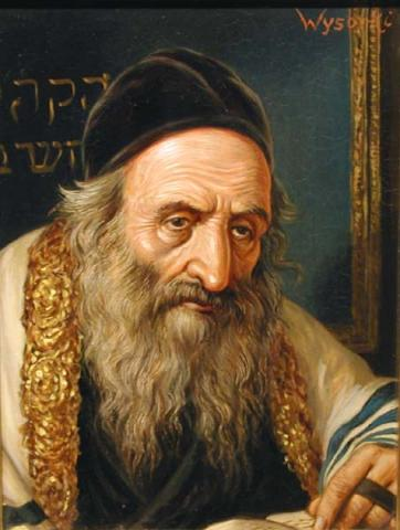 Portrait of a Rabbi.