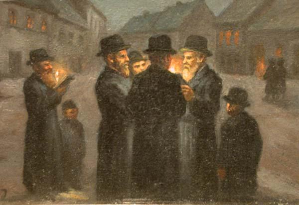 Midnigth in the Jewish Village
