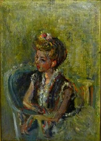 Portrait of the Artist´s Wife