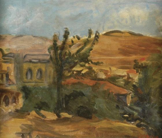 Landscape in the Gallile