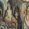 Spanish Women on the Veranda