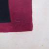 Composition on Violet Background