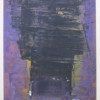 Purple and Black Abstraction