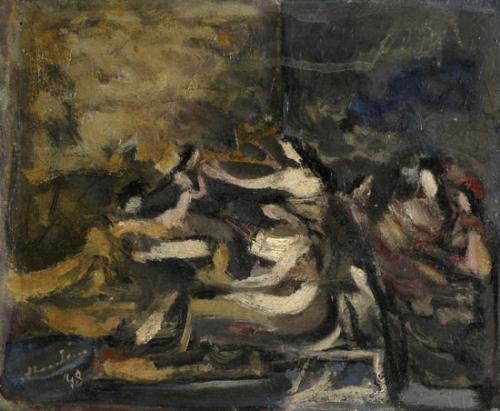 Women in an Interior