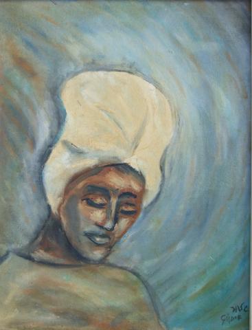 Head with Turban