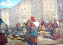 Market in Lvov