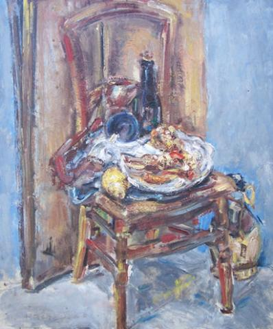 Still Life on Chair