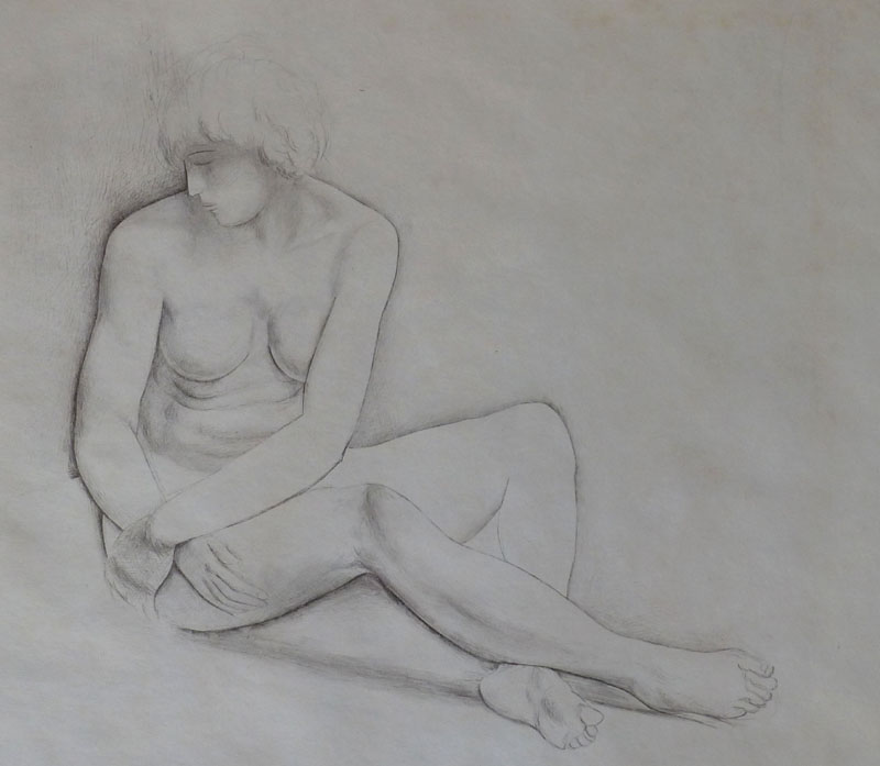 Seated Nude (Nu Assis)