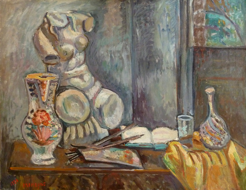 Still Life with Bust, 1926