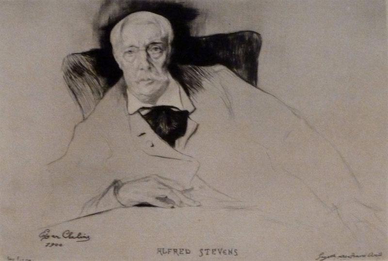 Portrait of Alfred Stevens, 1900