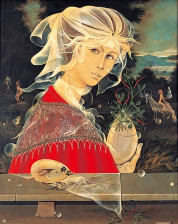 Surrealistic Woman