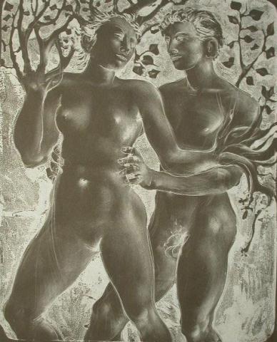 Daphne and Apollon.