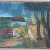 Village Landscape with Carriage