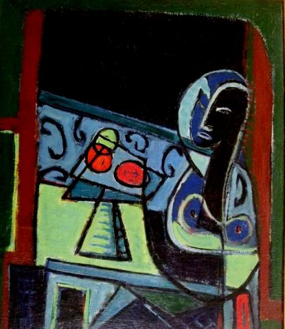 Still Life and a Face