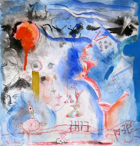 Telephone painting/Boaz