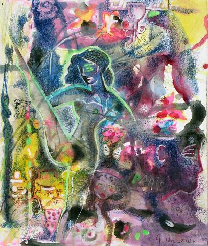 Telephone painting