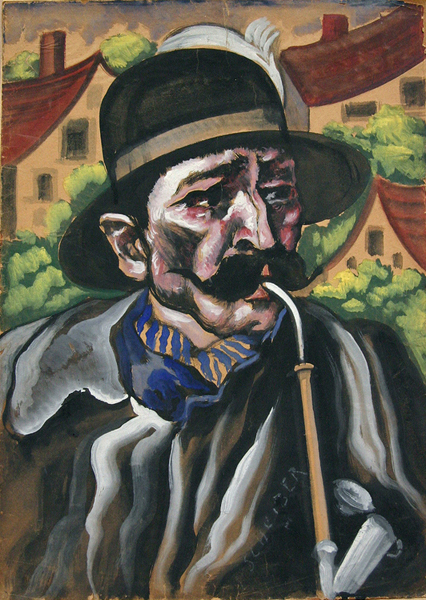 Portrait of a Man with a Pipe