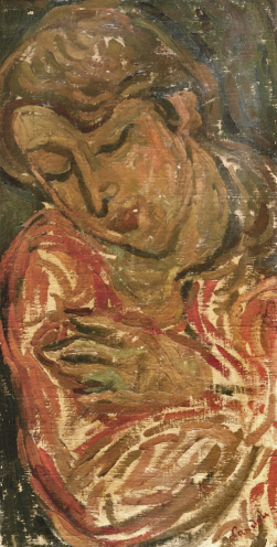Woman Embracing