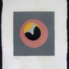 Untitled, from Le Soleil Recerclé  (Pink eye in grey square)