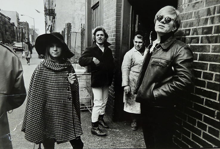 Andy Warhol´s Factory - Sussanah Campbell, Gerard, Butcher and Andy Warhol