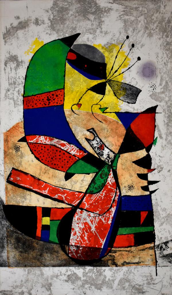 Joan Miro – Gaudi I- arsty